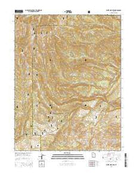 White Pine Peak Utah Current topographic map, 1:24000 scale, 7.5 X 7.5 Minute, Year 2014