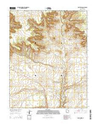 White Tower Utah Current topographic map, 1:24000 scale, 7.5 X 7.5 Minute, Year 2014