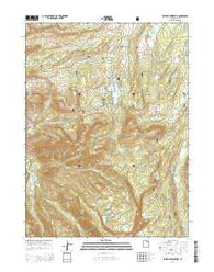 Whitney Reservoir Utah Current topographic map, 1:24000 scale, 7.5 X 7.5 Minute, Year 2014