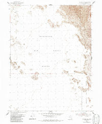 Wig Mtn NW Utah Historical topographic map, 1:24000 scale, 7.5 X 7.5 Minute, Year 1954
