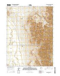 Wig Mountain NE Utah Current topographic map, 1:24000 scale, 7.5 X 7.5 Minute, Year 2014