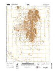 Wildcat Mountain Utah Current topographic map, 1:24000 scale, 7.5 X 7.5 Minute, Year 2014