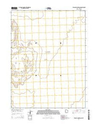 Wildcat Mountain NW Utah Current topographic map, 1:24000 scale, 7.5 X 7.5 Minute, Year 2014