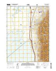 Willard Utah Current topographic map, 1:24000 scale, 7.5 X 7.5 Minute, Year 2014