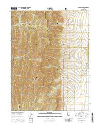 Williams Peak Utah Current topographic map, 1:24000 scale, 7.5 X 7.5 Minute, Year 2014