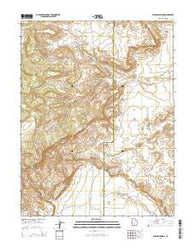 Willow Springs Utah Current topographic map, 1:24000 scale, 7.5 X 7.5 Minute, Year 2014