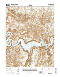 Wilson Creek Utah Current topographic map, 1:24000 scale, 7.5 X 7.5 Minute, Year 2014