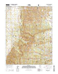Wilson Peak Utah Current topographic map, 1:24000 scale, 7.5 X 7.5 Minute, Year 2014