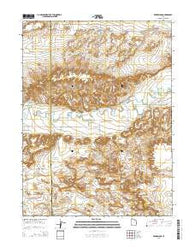 Windy Ridge Utah Current topographic map, 1:24000 scale, 7.5 X 7.5 Minute, Year 2014