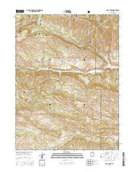 Wolf Creek Utah Current topographic map, 1:24000 scale, 7.5 X 7.5 Minute, Year 2014