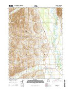 Woodruff Utah Current topographic map, 1:24000 scale, 7.5 X 7.5 Minute, Year 2014 from Utah Map Store