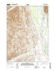 Woodruff Utah Current topographic map, 1:24000 scale, 7.5 X 7.5 Minute, Year 2014