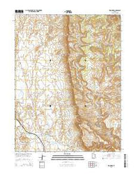 Woodside Utah Current topographic map, 1:24000 scale, 7.5 X 7.5 Minute, Year 2014