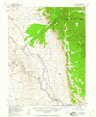 Woodside Utah Historical topographic map, 1:62500 scale, 15 X 15 Minute, Year 1948