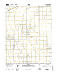 Yale Crossing Utah Current topographic map, 1:24000 scale, 7.5 X 7.5 Minute, Year 2014