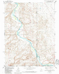 Yellow Rock Point East Utah Historical topographic map, 1:24000 scale, 7.5 X 7.5 Minute, Year 1985
