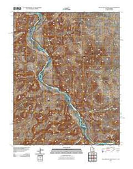 Yellow Rock Point East Utah Historical topographic map, 1:24000 scale, 7.5 X 7.5 Minute, Year 2011