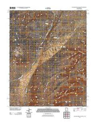 Yellowjacket Canyon Utah Historical topographic map, 1:24000 scale, 7.5 X 7.5 Minute, Year 2011