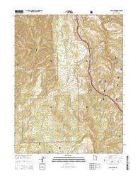 Yogo Creek Utah Current topographic map, 1:24000 scale, 7.5 X 7.5 Minute, Year 2014