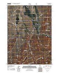 Yost Utah Historical topographic map, 1:24000 scale, 7.5 X 7.5 Minute, Year 2011