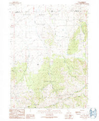 Yost Utah Historical topographic map, 1:24000 scale, 7.5 X 7.5 Minute, Year 1990