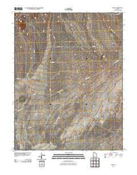 Zane Utah Historical topographic map, 1:24000 scale, 7.5 X 7.5 Minute, Year 2011