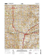 Annandale Virginia Current topographic map, 1:24000 scale, 7.5 X 7.5 Minute, Year 2016 from Virginia Map Store