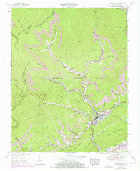 Appalachia Virginia Historical topographic map, 1:24000 scale, 7.5 X 7.5 Minute, Year 1955
