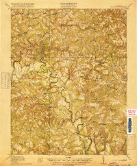 Aylett Virginia Historical topographic map, 1:62500 scale, 15 X 15 Minute, Year 1918