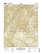 Barley Virginia Current topographic map, 1:24000 scale, 7.5 X 7.5 Minute, Year 2016 from Virginia Map Store