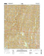 Baskerville Virginia Current topographic map, 1:24000 scale, 7.5 X 7.5 Minute, Year 2016 from Virginia Map Store
