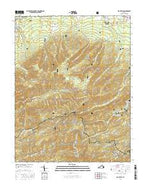 Big Levels Virginia Current topographic map, 1:24000 scale, 7.5 X 7.5 Minute, Year 2016 from Virginia Map Store
