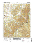 Big Meadows Virginia Current topographic map, 1:24000 scale, 7.5 X 7.5 Minute, Year 2016 from Virginia Map Store