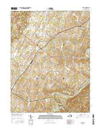 Boyce Virginia Current topographic map, 1:24000 scale, 7.5 X 7.5 Minute, Year 2016 from Virginia Map Store