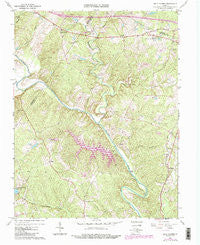 Boyd Tavern Virginia Historical topographic map, 1:24000 scale, 7.5 X 7.5 Minute, Year 1967