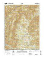 Browns Cove Virginia Current topographic map, 1:24000 scale, 7.5 X 7.5 Minute, Year 2016 from Virginia Map Store