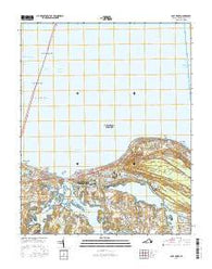 Cape Henry Virginia Current topographic map, 1:24000 scale, 7.5 X 7.5 Minute, Year 2016