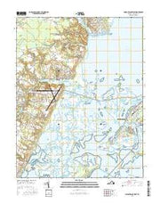 Chincoteague West Virginia Current topographic map, 1:24000 scale, 7.5 X 7.5 Minute, Year 2016 from Virginia Maps Store