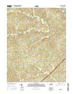 DeWitt Virginia Current topographic map, 1:24000 scale, 7.5 X 7.5 Minute, Year 2016 from Virginia Map Store