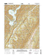 Falling Spring Virginia Current topographic map, 1:24000 scale, 7.5 X 7.5 Minute, Year 2016 from Virginia Map Store