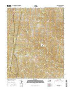 Fort Mitchell Virginia Current topographic map, 1:24000 scale, 7.5 X 7.5 Minute, Year 2016 from Virginia Map Store