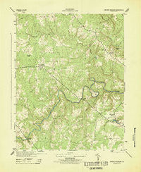 Hanover Academy Virginia Historical topographic map, 1:31680 scale, 7.5 X 7.5 Minute, Year 1943