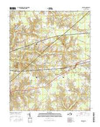 Holland Virginia Current topographic map, 1:24000 scale, 7.5 X 7.5 Minute, Year 2016 from Virginia Map Store