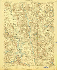 Homeville Virginia Historical topographic map, 1:62500 scale, 15 X 15 Minute, Year 1920