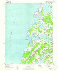 Jamesville Virginia Historical topographic map, 1:24000 scale, 7.5 X 7.5 Minute, Year 1943