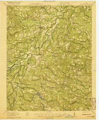 Jarratt Virginia Historical topographic map, 1:62500 scale, 15 X 15 Minute, Year 1919