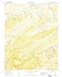 Konnarock Virginia Historical topographic map, 1:24000 scale, 7.5 X 7.5 Minute, Year 1959