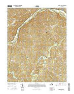 Lakeside Village Virginia Current topographic map, 1:24000 scale, 7.5 X 7.5 Minute, Year 2016 from Virginia Map Store