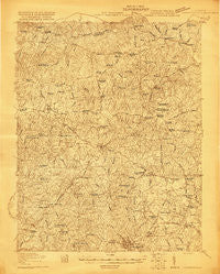Lawrenceville Virginia Historical topographic map, 1:48000 scale, 15 X 15 Minute, Year 1920