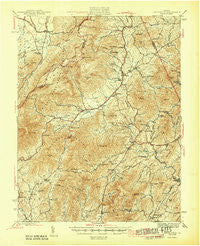 Lovingston Virginia Historical topographic map, 1:62500 scale, 15 X 15 Minute, Year 1946